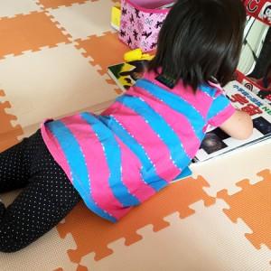 ダウン症児の成長日記 鏡