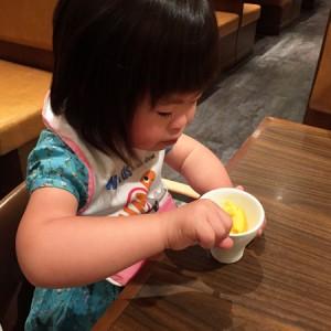 ダウン症児の成長日記 食事