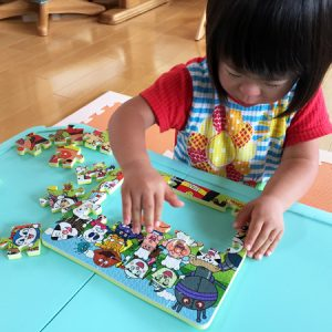 ダウン症児の成長日記 パズル