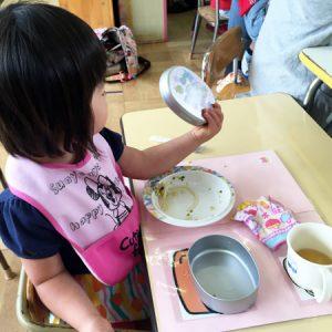 ダウン症児の成長日記 保育参加