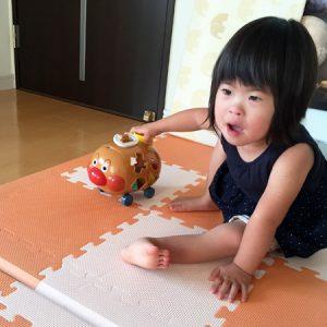 ダウン症児の成長日記 アンパンマン号