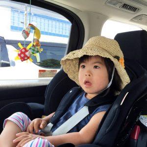 ダウン症児の成長日記 チャイルドシート