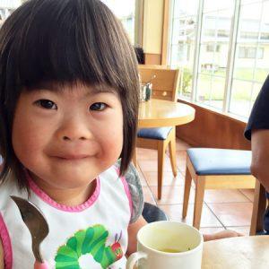 ダウン症児の成長日記 カフェ