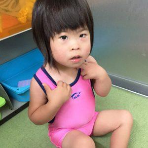 ダウン症児の成長日記 スイミングスクール