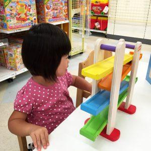 ダウン症児の成長日記 おもちゃコーナー