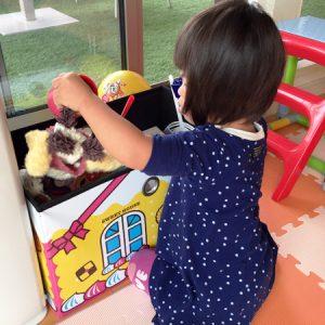 ダウン症児の成長日記 おもちゃ箱