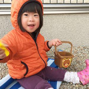ダウン症児の成長日記 じゃり遊び