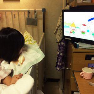 ダウン症児の成長日記 気管支炎