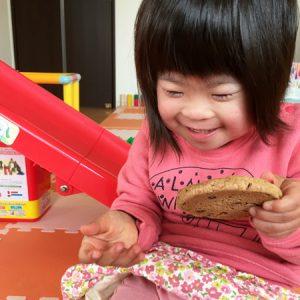 ダウン症児の成長日記 クッキー