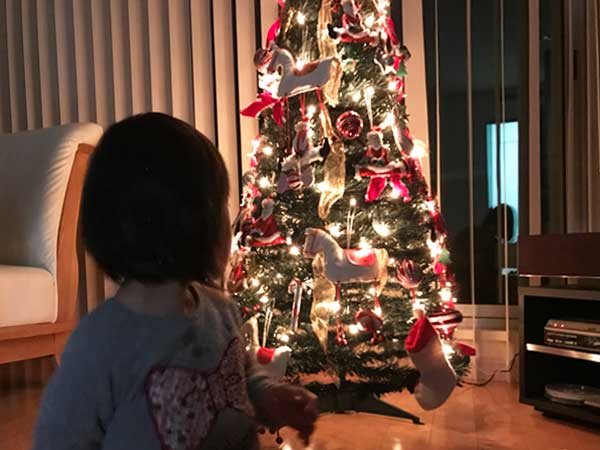 ダウン症児の成長日記 クリスマスツリー