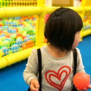 ダウン症児の成長日記 屋内遊具施設