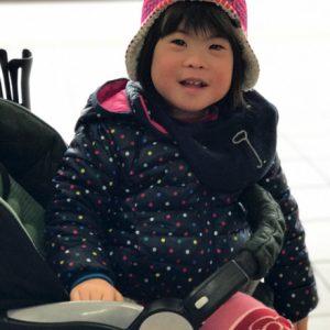 ダウン症児の成長日記 ベビーカー
