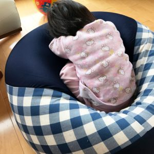 ダウン症児の成長日記 寝起き