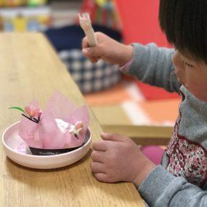 ダウン症児の成長日記 ケーキ