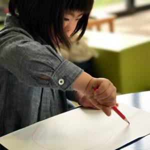 ダウン症児の成長日記 お絵かき