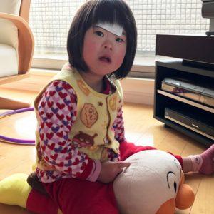 ダウン症児の成長日記 発熱