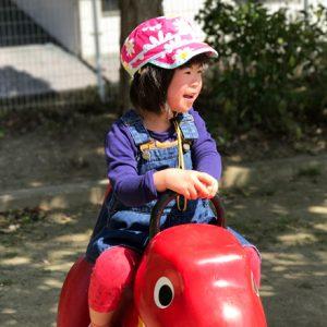 ダウン症児の成長日記 公園