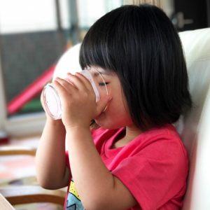 ダウン症児の成長日記 バナナミルク