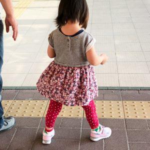ダウン症児の成長日記 歩き方