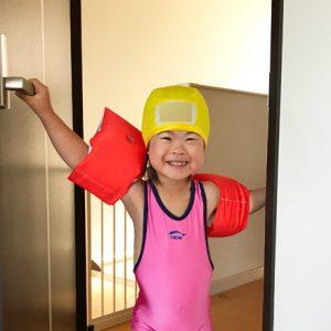 ダウン症児の成長日記 スイミング