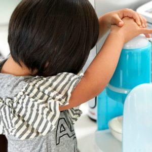 ダウン症児の成長日記 かき氷