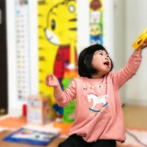 ダウン症児の成長日記 タンバリン