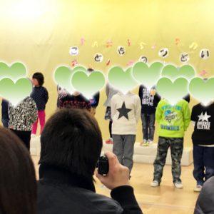 ダウン症児の成長日記 発表会(年中クラス)