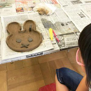 ダウン症児の成長日記 親子陶芸教室