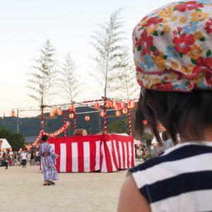 ダウン症児の成長日記 夏祭り 和太鼓