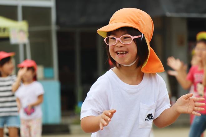ダウン症児の成長日記 運動会 体操