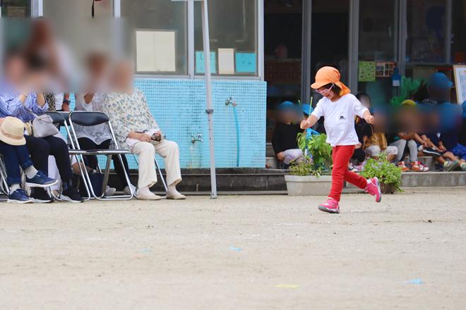 ダウン症児の成長日記 運動会 かけっこ