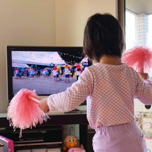 ダウン症児の成長日記 運動会の動画