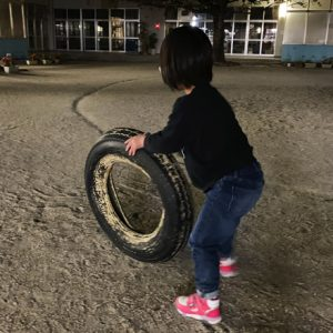 ダウン症児の成長日記 外遊び
