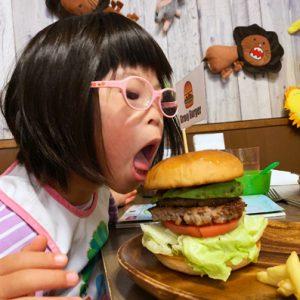 ダウン症児の成長日記 ハンバーガー屋さんにて