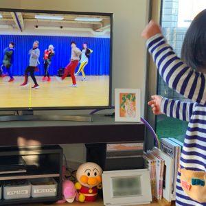 ダウン症児の成長日記 USAを踊る
