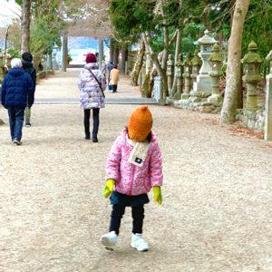 ダウン症児の成長日記 初詣