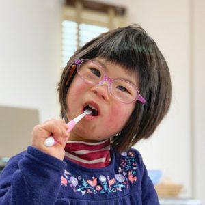 ダウン症児の成長日記 歯みがき