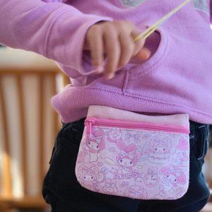 ダウン症児の成長日記 ポケットポーチ