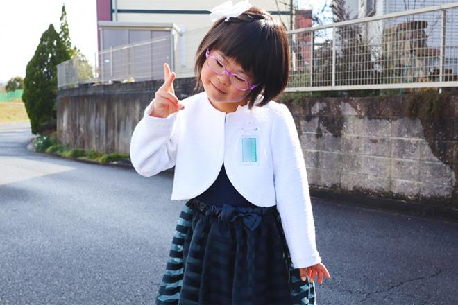 ダウン症児の成長日記 小学校入学式