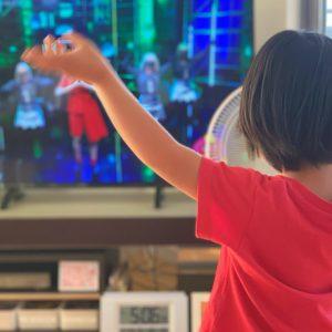 ダウン症児の成長日記 運動会ダンスの練習