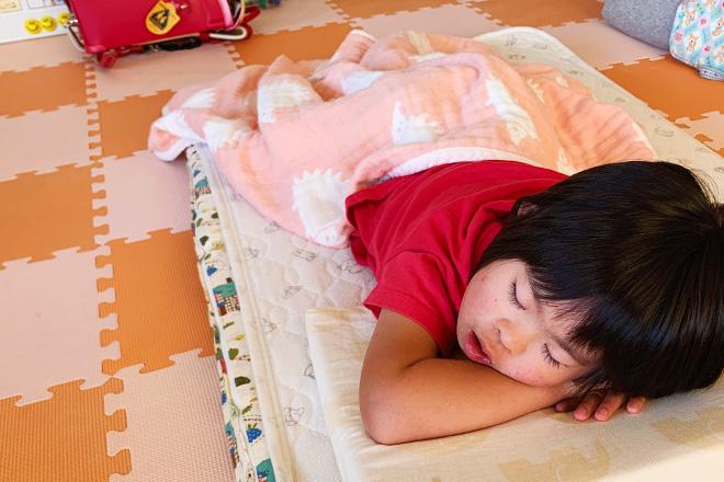 ダウン症児の成長日記 体調不良