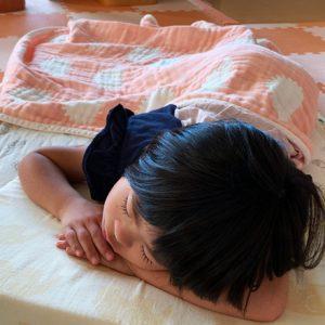 ダウン症児の成長日記 夏風邪