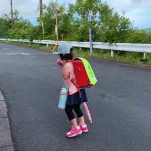 ダウン症児の成長日記 朝の登校