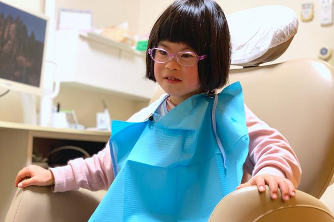 ダウン症児の成長日記 歯医者さん