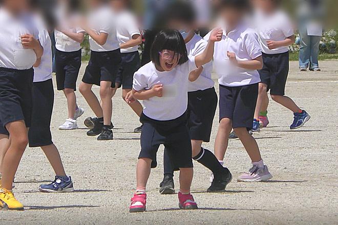 ダウン症児の成長日記 小学3年生運動会 ダンス