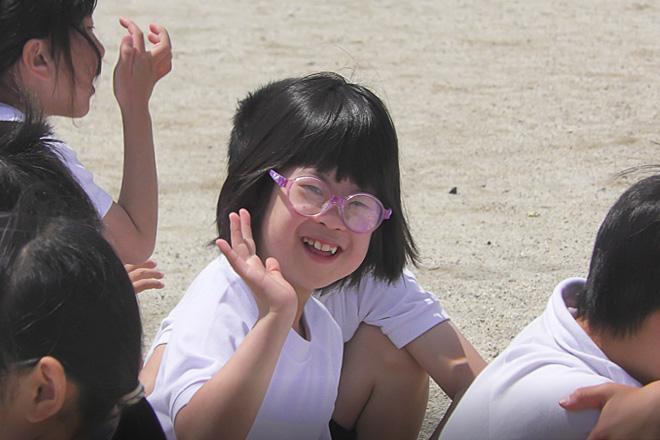 ダウン症児の成長日記 小学3年生運動会