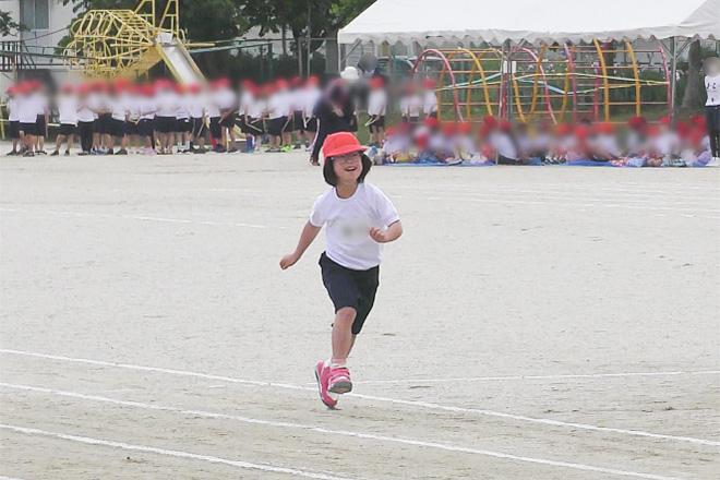 ダウン症児の成長日記 小学3年生運動会 80メートル走